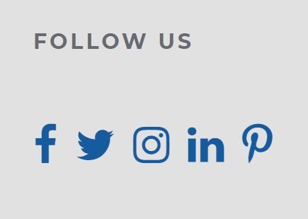 Link to social media widget